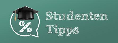 Spartipps & Gratisartikel für Studis